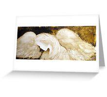 EN697 Angel Painting by ReneaL Greeting Card