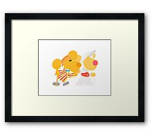 Jolly Holiday with Ditto and Delilah  Framed Print