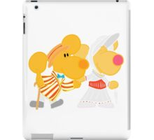 Jolly Holiday with Ditto and Delilah  iPad Case/Skin