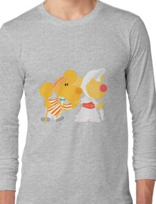 Jolly Holiday with Ditto and Delilah  Long Sleeve T-Shirt