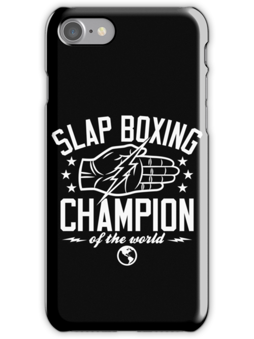 Slap Boxing Champion by popnerd