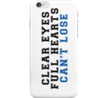clear eyes, full hearts, can't lose (2) iPhone Case/Skin
