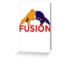 Trunks & Goten - Fusion Greeting Card
