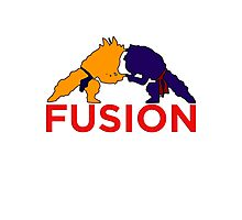 Trunks & Goten - Fusion Photographic Print