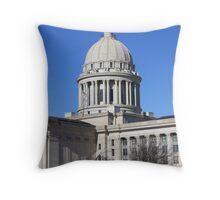 The Oklahoma Capital Throw Pillow