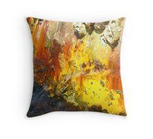 harbor rust Throw Pillow