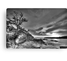 Alone - Balmoral Beach - The HDR Experience Canvas Print