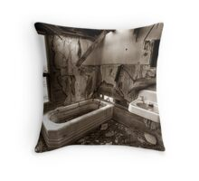 A Lifetime in the Oilfields Throw Pillow