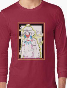 Princess Mononoke and her Kodama - drawing Long Sleeve T-Shirt