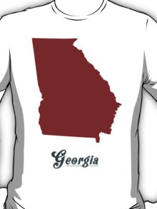 Georgia - States of the Union T-Shirt