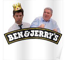 Ben & Jerry Poster