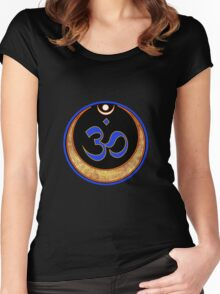 Aum Women's Fitted Scoop T-Shirt