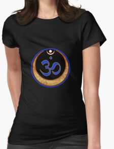 Aum Womens Fitted T-Shirt
