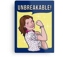 Unbreakable! Metal Print