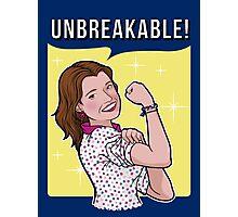 Unbreakable! Photographic Print