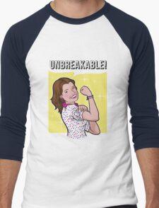Unbreakable! Men's Baseball ¾ T-Shirt