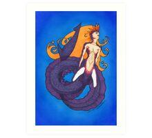 ECO mermaid Art Print
