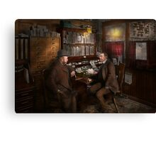 Police - The private eye - 1902  Canvas Print