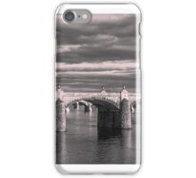 Evening on the Susquehanna iPhone Case/Skin