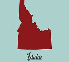 Idaho - States of the Union by Michael Bowman