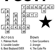 GOT7 Crossword Puzzle by kpoplace