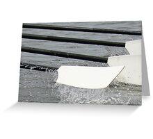 Rowing Oar Greeting Card
