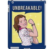 Unbreakable! iPad Case/Skin