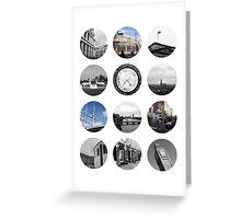London Snapshots Greeting Card