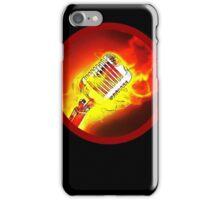 Hot Microphone iPhone Case/Skin