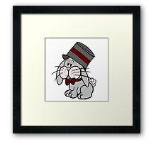 Magician Rabbit Framed Print