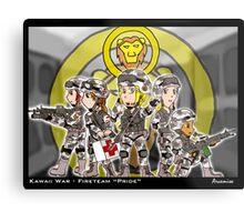 Kawaii War - Fireteam Pride Metal Print