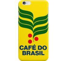 CAFE DO BRASIL iPhone Case/Skin