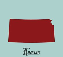 Kansas - States of the Union by Michael Bowman