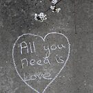 All you need is Love ... by Tracy Duckett