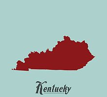Kentucky - States of the Union by Michael Bowman