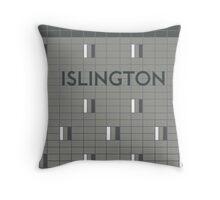 ISLINGTON Subway Station Throw Pillow