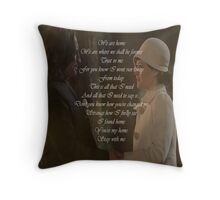 Stay With Me (Rumbelle) Throw Pillow