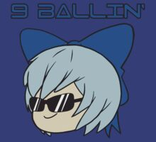 Cirno is 9 Ballin' T-Shirt