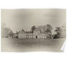 Hovingham Hall - North Yorkshire Poster