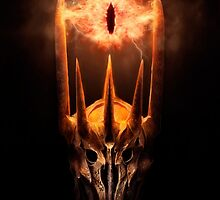 The Lord of the Rings - Sauron by ghoststorm