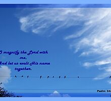 O Magnify The Lord by June Holbrook