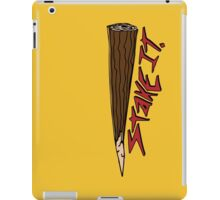 Just put a Stake in it iPad Case/Skin