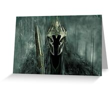 The Lord of the Rings - Nazgul Greeting Card