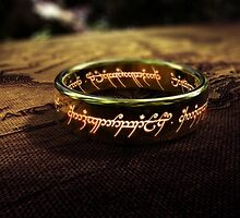 The Lord of the Rings - Sauron's Ring by ghoststorm