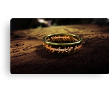 The Lord of the Rings - Sauron's Ring Canvas Print