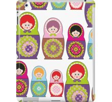 Russian dolls kawaii iPad Case/Skin