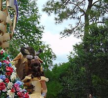 Belle and the Beast Festival Of Fantasy Parade- Magic Kingdom by caileystavern