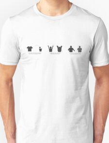 How to tip #7. wearing your new t-shirt Unisex T-Shirt