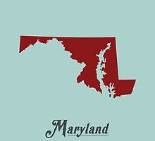 Maryland - States of the Union by Michael Bowman