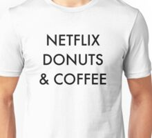 Netflix Donuts & Coffee Unisex T-Shirt
